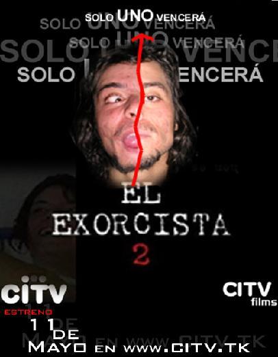 "afiche de ""el exorcista 2 """